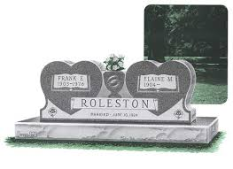 Flat Headstones With Vase Cemetery Headstone Deals Package Prices