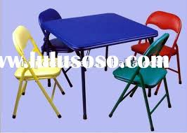 Folding Childrens Table And Chairs Stunning Folding Childrens Table And Chairs Children 39 S Folding