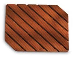 tappeti doccia doccia in legno con angoli smussati h5639