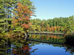 New Hampshire landscapes images Free stock photo of bridge and pond landscape in new hampshire jpg