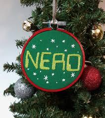 embroidered ornament ornament computer