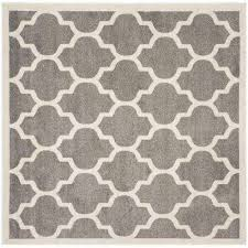 Grey Outdoor Rug Gray Square Outdoor Rugs Rugs The Home Depot