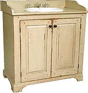 Vintage Bathroom Vanity Sink Cabinets by Primitive Country Bathrooms Vintage Country Cottage Bathroom