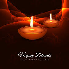 diwali cards diwali greeting card background vector free
