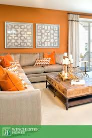 orange living room rustic orange living room burnt orange and brown living room