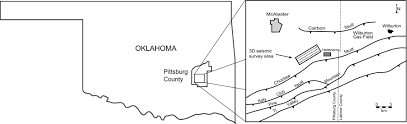 Ouachita Mountains Map Inversion And Interpretation Of A 3d Seismic Data Set From The