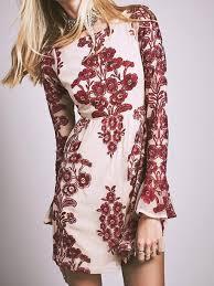 bohemian fashion dress mynystyle burgundy bohemian fashion boho chic