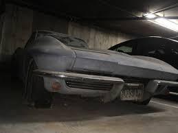 corvette stingray split window for sale bangshift com this 1963 split window corvette has been stored in a