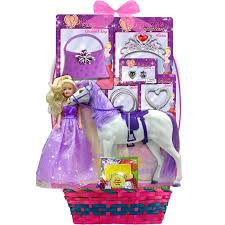 princess easter basket megatoys pony princess candies easter basket walmart