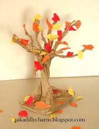 paper craft fall tree did this for fall fest at for 1st