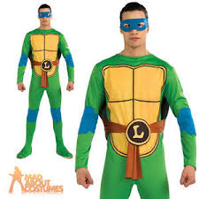 Ninja Turtle Womens Halloween Costumes Teenage Mutant Ninja Turtles Leonardo Costume Mens Fancy