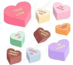heart shaped candy candy heart graphics vectortoons s day