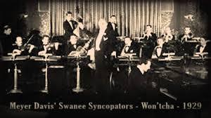 meyer davis u0027 swanee syncopators won u0027tcha 1929 youtube