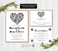 wedding wishes birmingham wars wedding invitation printable set suite rsvp card