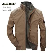 jeep rich jacket jeep rich size s 5xl mens casual stand collar jacket plus big size