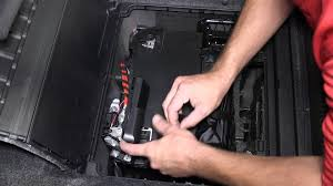 installation of a trailer wiring harness on a 2011 audi q5