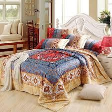 cliab moroccan bedding bohemian bedding sets queen egyptian cotton
