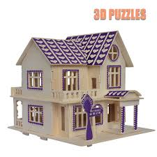 wood lego house wood lego love home puzzle kids toys