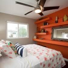 orange bedroom photos hgtv