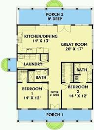 Small House Floor Plans With Basement by I Like The Open Floor Plan But It Would Need Another Bedroom And A