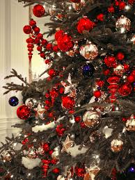 modern decor accents red christmas tree decorating ideas gold