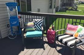 Diy Patio Cushions Diy No Sew Patio Cushions U2013fast And Budget Friendly