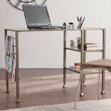 Glass Office Desks Buy Glass Office Desk From Bed Bath Beyond