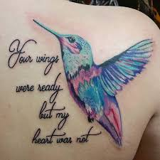 watercolor hummingbird tattoo tattoos pinterest watercolor