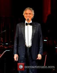 Opera Singer Blind Bocelli Latest Andrea Bocelli News And Archives Contactmusic Com