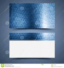 blue business card template abstract background stock photography