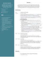 Publications On Resume Example by Publisher Resume Samples Visualcv Resume Samples Database