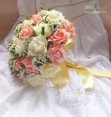 artificial wedding bouquets silk flowers for weddings wedding flowers wedding bouquets silk