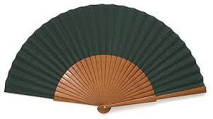 wooden fans plain wooden fan ec0123grn myhandfan