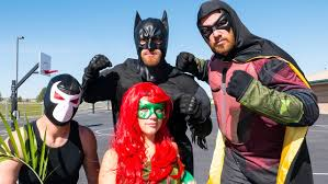 batman robin poison ivy bane playground