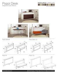 poppi book spec sheet resource furniture