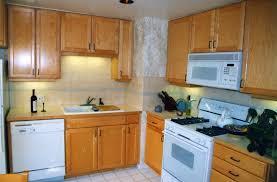 Backsplash Ideas For Kitchens With Granite Countertops Granite Countertop Red Birch Cabinets Kitchen Very Slimline