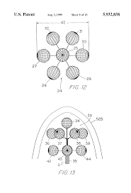 patent us5932838 ionization cluster tree having tiers of spline