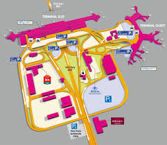 Warsaw Airport Map Map Of Paris Airport Transportation U0026 Terminal