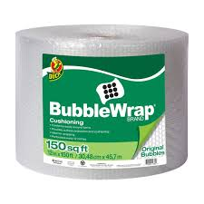 150 Ft In M by Amazon Com Duck Brand Bubble Wrap Original Cushioning 12 In X