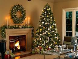 tree decorating ideas artificial tree wreath and