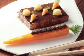 cuisiner du paleron de boeuf recette de paleron de boeuf confit carotte fondante orange cumin