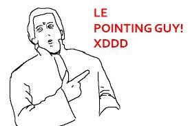 Pointing Meme Face - image 404616 le memes know your meme