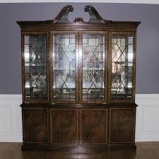 hickory white china cabinet ebth