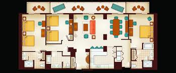 floor plan of a 3 bedroom grand villa resort room floor plan swawou