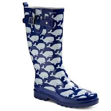 s garden boots target s chief whale print boots navy target
