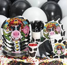 Barn Animal Party Supplies Farm Party Supplies Barnyard 1st Birthday Party Theme Party