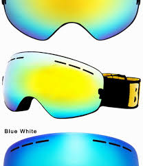 womens motocross goggles locle ski goggles double lens anti fog uv 400 ski glasses men