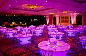 led lighting for banquet halls vividlite applications portland wedding lights