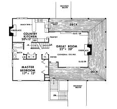 country kitchen floor plans countrywood rustic home plan 016d 0031 house plans and more
