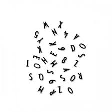 buchstaben design buchstaben und zahlenbox schwarz design letters